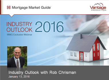 2016 Industry Outlook with Rob Chrisman