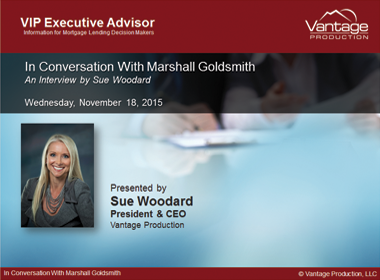 In Conversation With Marshall Goldsmith: An Interview by Sue Woodard